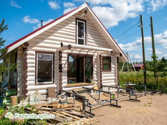 Коттеджный поселок  Тишь да Гладь, Выборгский район. Актуальное фото.
