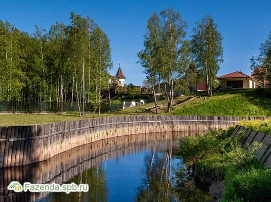 Коттеджный поселок  New Paradise, Выборгский район. Актуальное фото.