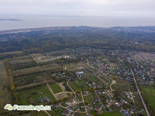 Коттеджный поселок  4 Сезона, Ломоносовский район. Актуальное фото.