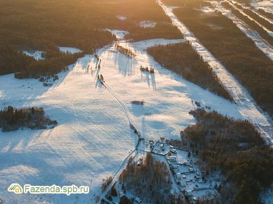 Коттеджный поселок  Огоньково, Выборгский район. Актуальное фото.
