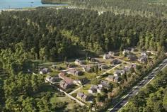 Рядом с Моя Ладога расположен Коттеджный поселок  Лес и пляж