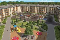 Рядом с СолнцеPARK расположен Малоэтажный жилой комплекс ЭкспоГрад 4