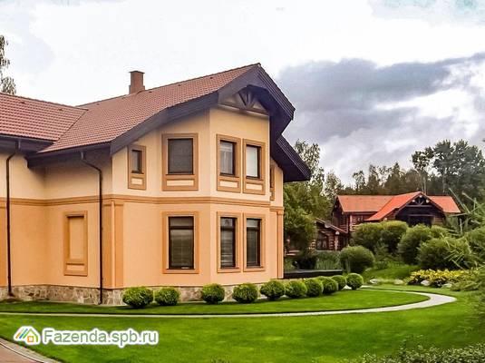 Коттеджный поселок  Высокое Симагино, Выборгский район. Актуальное фото.