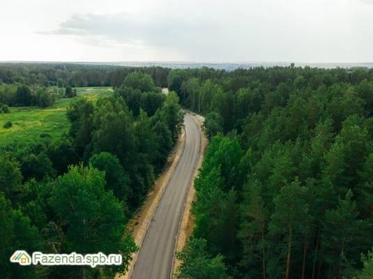 Коттеджный поселок  Отрадная Бухта 2.0, Приозерский район. Актуальное фото.