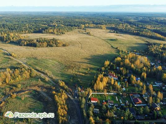 Коттеджный поселок  Линтулово, Выборгский район. Актуальное фото.