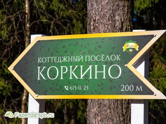 Коттеджный поселок  Коркино, Всеволожский район. Актуальное фото.